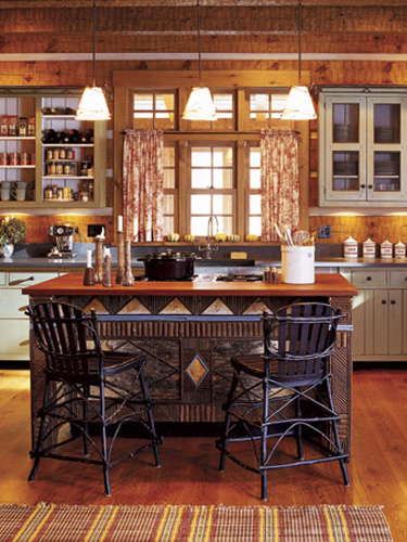 Log Cabin Homes - Log House Living Designs and Ideas