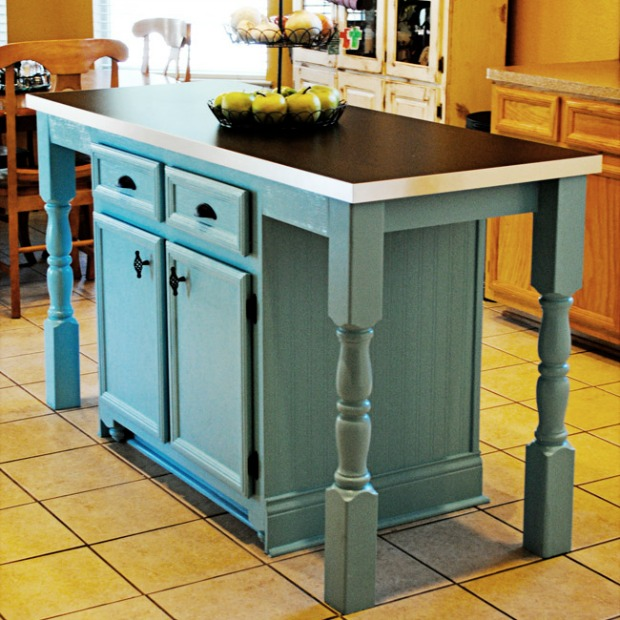 Kitchen Island Makeover Ideas: Kitchen Before And After