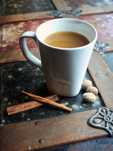 This clever crockpot recipe is family-friendly, but you can add a jigger of rum or bourbon to your mug if you'd like. Get the recipe at My Baking Addiction.