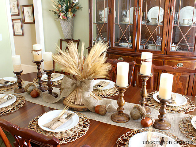29 diy thanksgiving centerpieces – thanksgiving table decor