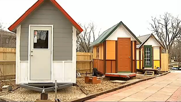 This Tiny House Village Was Built For And By The Homeless