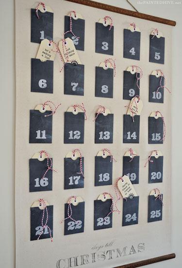 32 DIY Advent Calendar Ideas - Homemade Christmas Advent Calendars