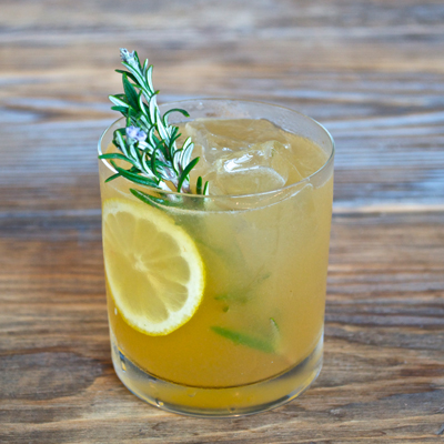 Rosemary Maple Bourbon Sour Recipe - Fall Cocktail Recipes