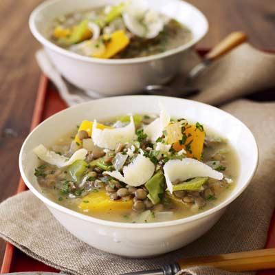 Lentil Stew with Butternut Squash - Slow Cooker Recipes - Crock Pot