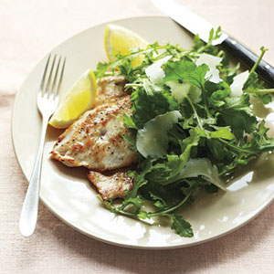 Chicken Cutlets with Lemony Arugula Salad – bestrecepiesforyou