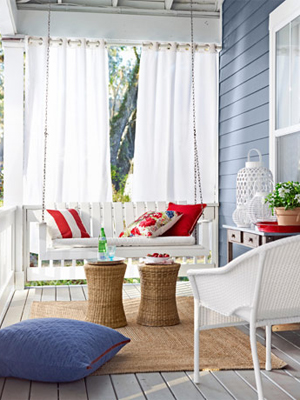 Delightful Porch Swing