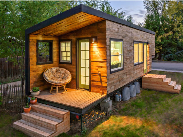 Micro House this tiny house comes shipped to you in a box 60 Best Tiny Houses 2017 Small House Pictures Plans