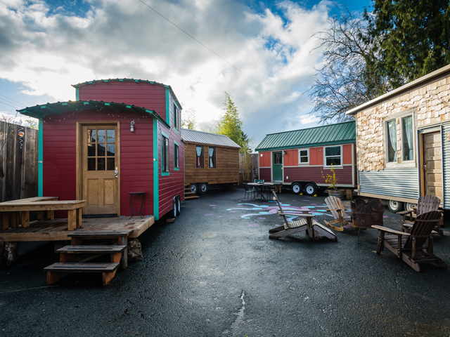 Caravan Tiny House Hotel Tiny House Movement