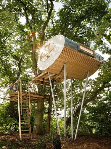 German Baumraum Treehouse Treehouse Tours