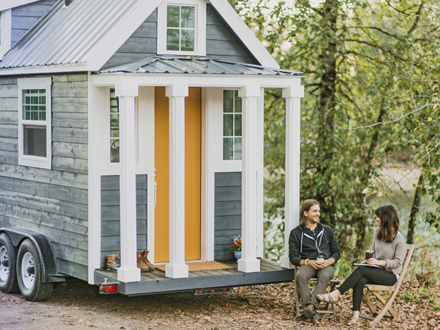Tiny Heirloom Homes Luxury Tiny House On Wheels