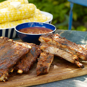 Texas BBQ Sauce Pork Ribs Recipe - Barbecue Recipes from ...