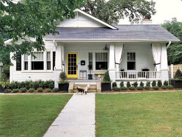after a bright and lively home - Home Exterior