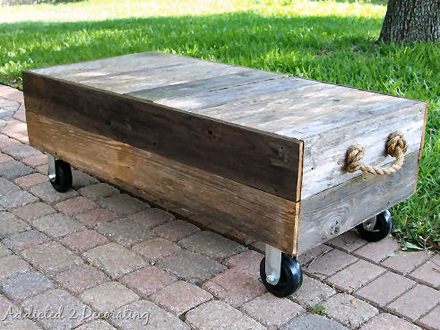 Picket Fence Coffee Table Part 40
