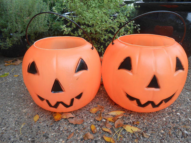 more from outdoor decorating - Large Plastic Pumpkins