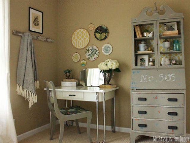 See how one Hometalk blogger renovated her guest bedroom on a budget  using  vintage finds and DIY solutions. Vintage Guest Bedroom Makeover   Hometalk Decorating Ideas