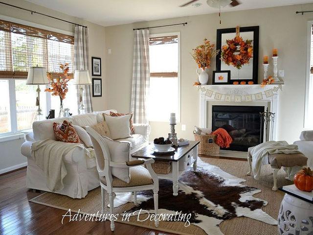 Fall Living Room Makeover Hometalk Decorating Ideas