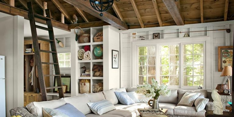 16 cozy living rooms furniture and decor ideas for cozy rooms - Lake house decorating ideas easy ...