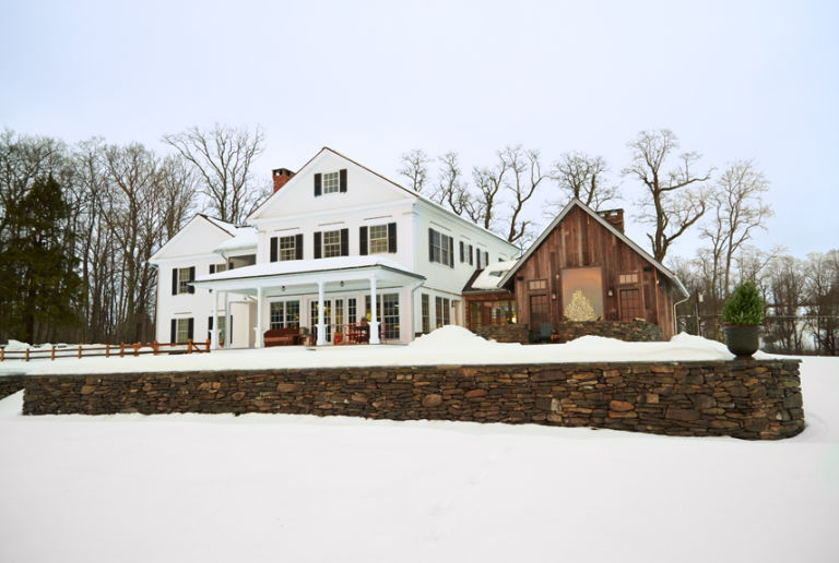 Swell Marisa Bistany Connecticut Farmhouse Christmas House Tour Largest Home Design Picture Inspirations Pitcheantrous