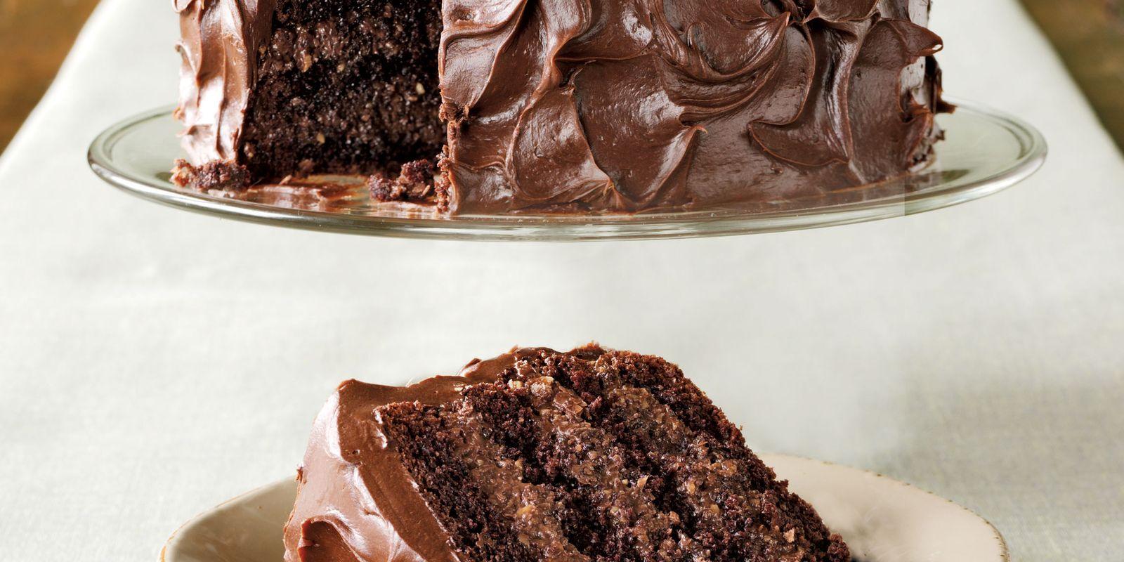 Rich fruit chocolate cake recipe