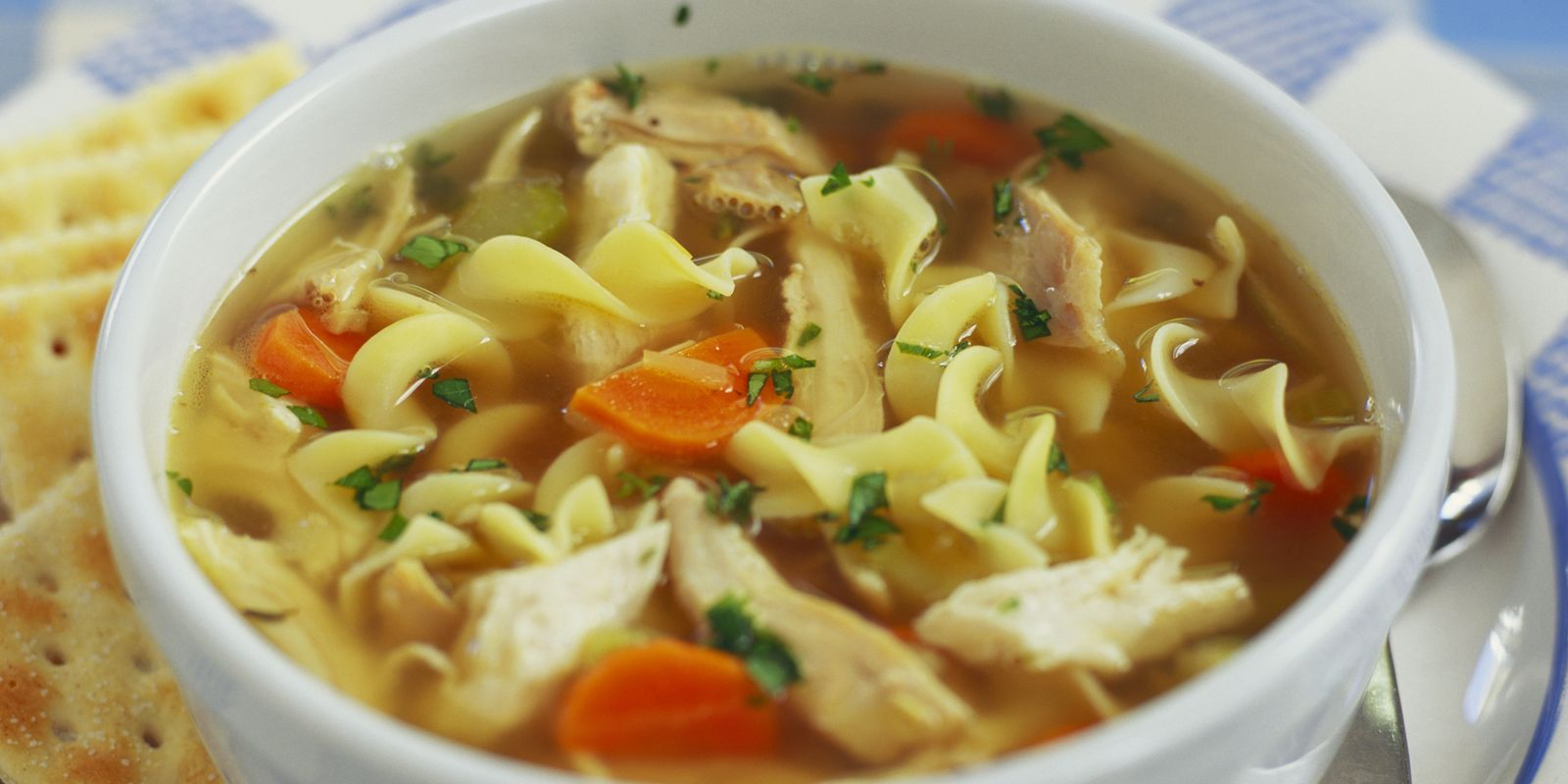 Homemade Chicken Noodle Soup Recipe - How to Make Chicken ...