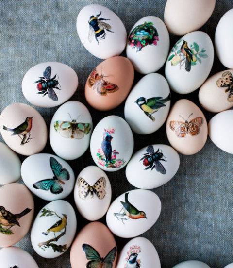 Printed Easter Eggs- Country Living