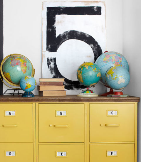 Build Your Room yellow decor - decorating with yellow