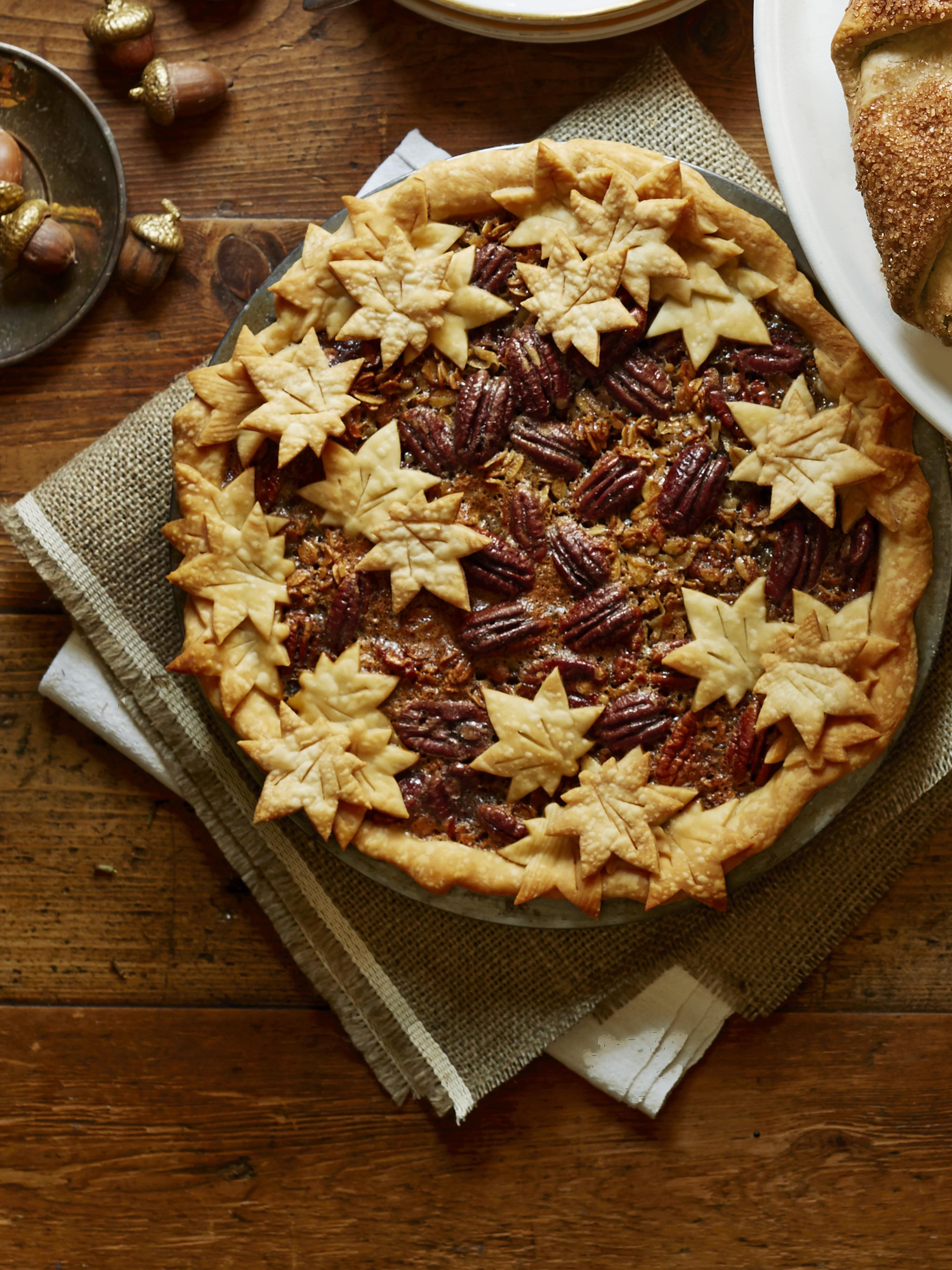 Maple Granola Pecan Pie Recipe