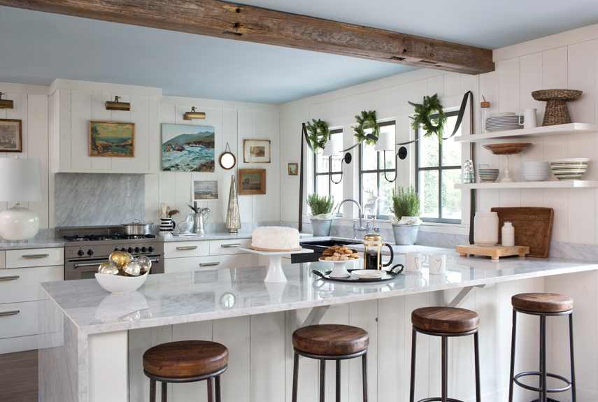 Wonderful Farm Style Kitchen Island Part - 8: Country Living Magazine