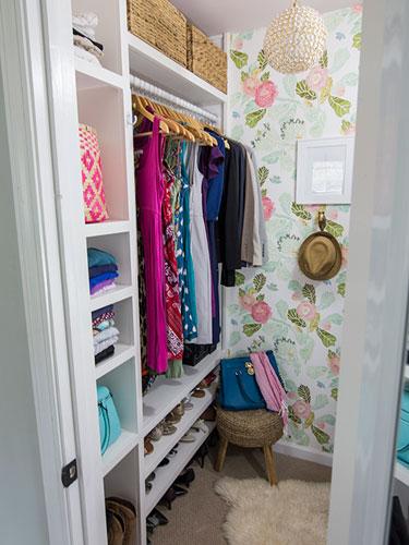 Repurposed Closet Makeovers - Closet Design Ideas