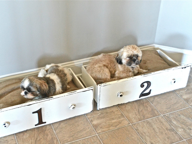 14 Adorable Diy Dog Bed - Cheap Pet Beds Diy Shabby Chic Pet Bed