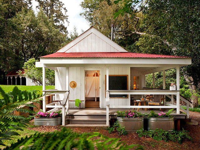 Richardson Architects 260 Square Foot House Colorful Tiny House