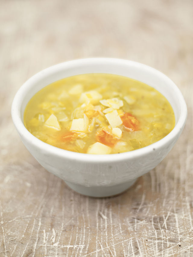 Easy chicken and leek soup recipe