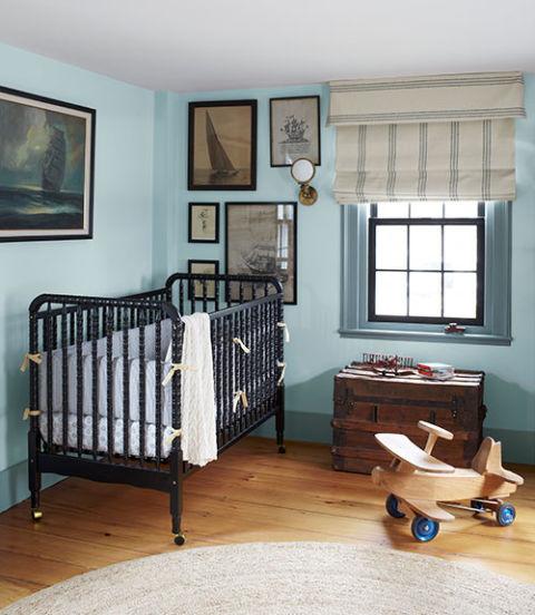 Baby Nash S Vintage Nautical Nursery: Abby Cahill OBrien Historic Massachusetts Home