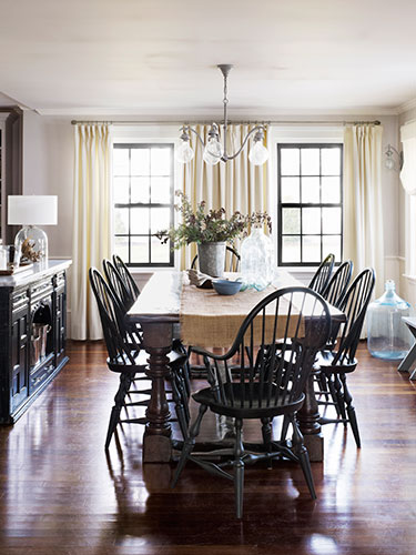 Abby cahill obrien historic massachusetts home for Georgian dining room ideas