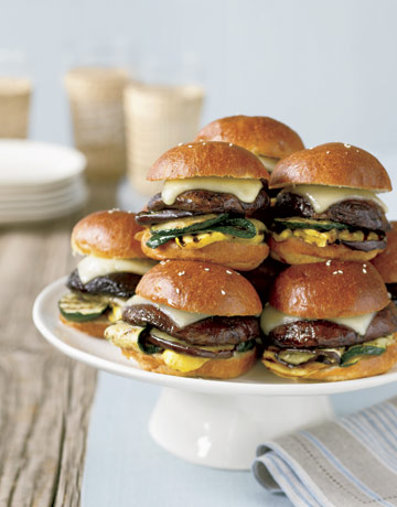 how to make mini burgers for a party