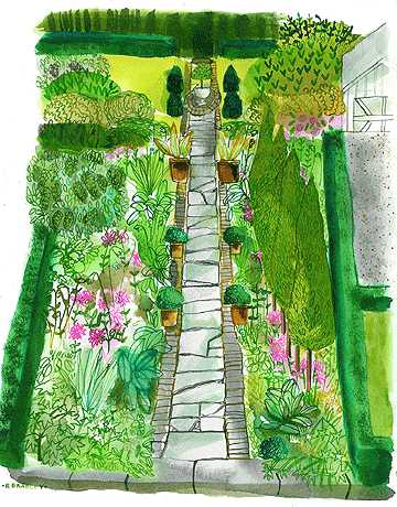 Garden plans for a farmhouse kevin reiner for Garden planting designs