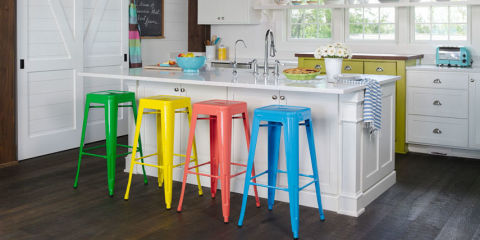 By Country Living Staff Color Blocking