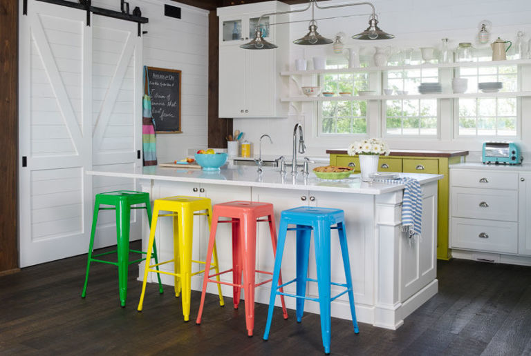 Jenny Piazza Decorating with Color - Colorful Decorating Ideas