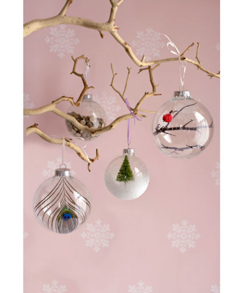 how to put cotton into christmas tree