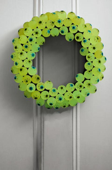 30 Diy Halloween Wreaths How To Make Halloween Door