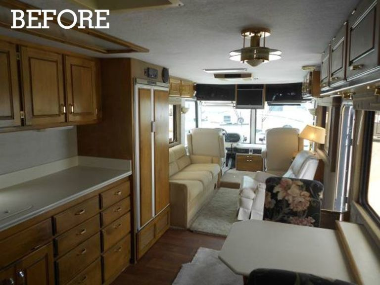 Lacy Young Rv Makeover Decorating Ideas