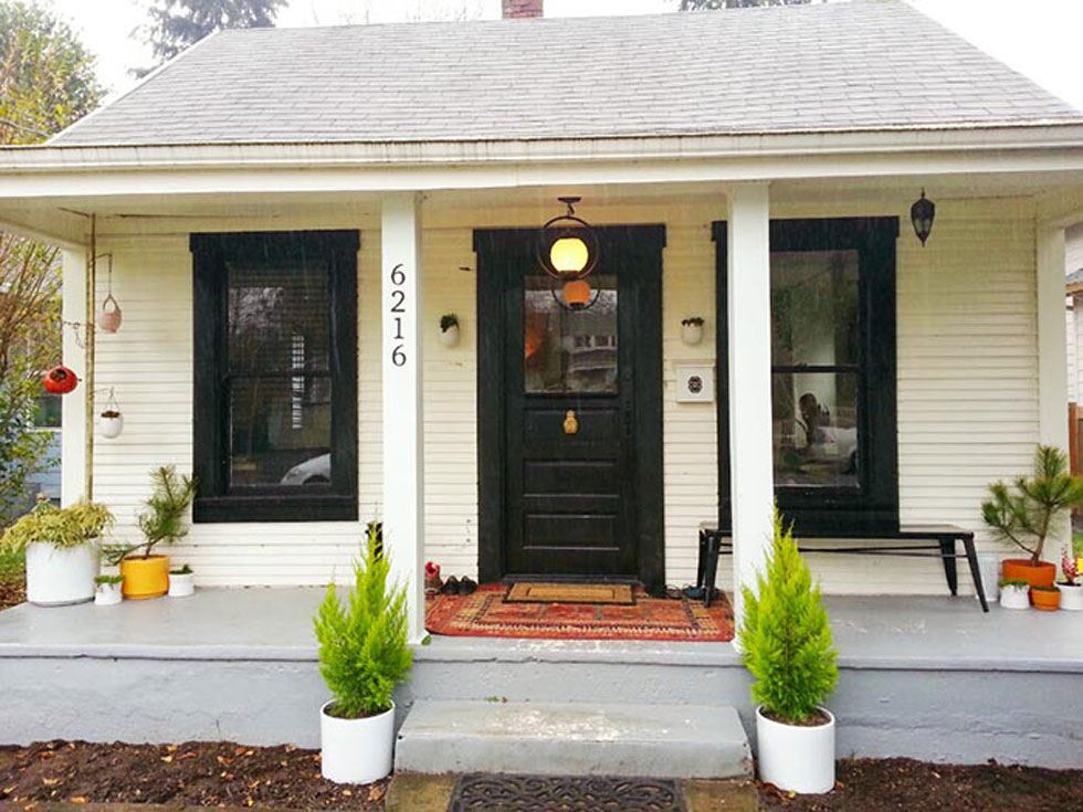 Farmhouse Exterior Makeover - Portland Oregon Farmhouse ...