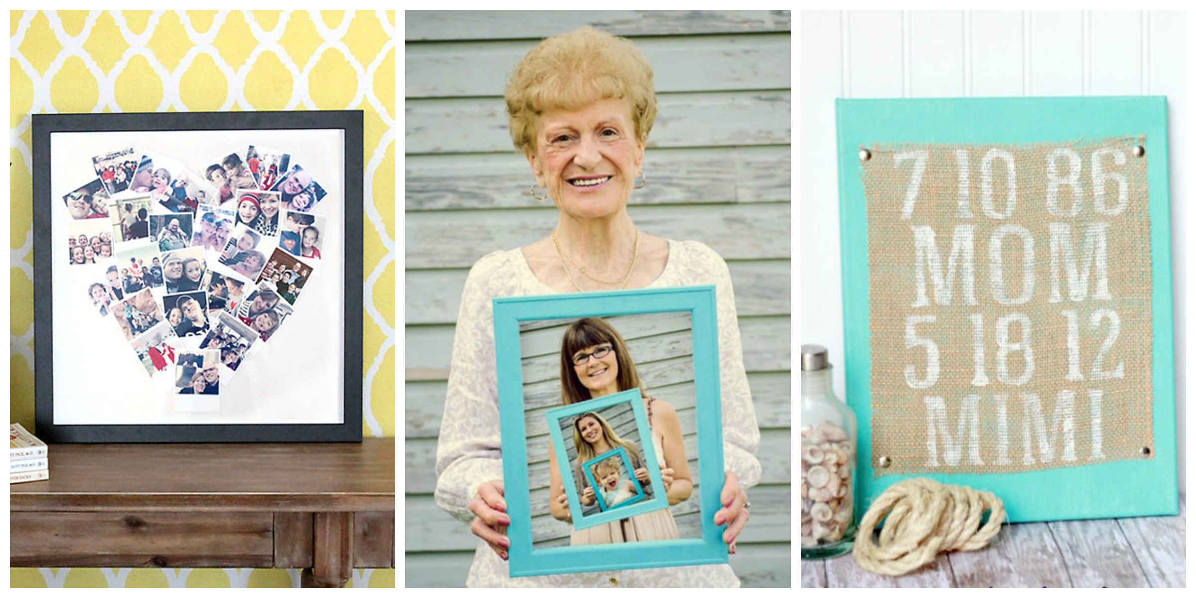 grandmother picture college ideas - 15 Best Mother s Day Gifts for Grandma Crafts You Can
