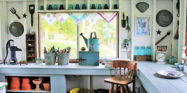 Potting Shed Interior Design Ideas | Psoriasisguru.com
