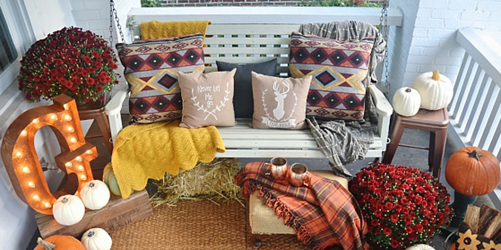 Decorate Your Porch For Fall Patricia Straus Nashville Homes