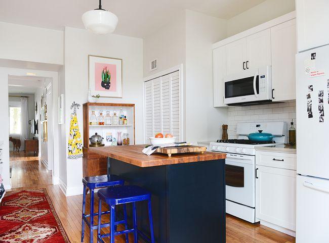 Fai da te con i vecchi mobili 7 spunti creativi fai da te creativo - Isola cucina fai da te ...