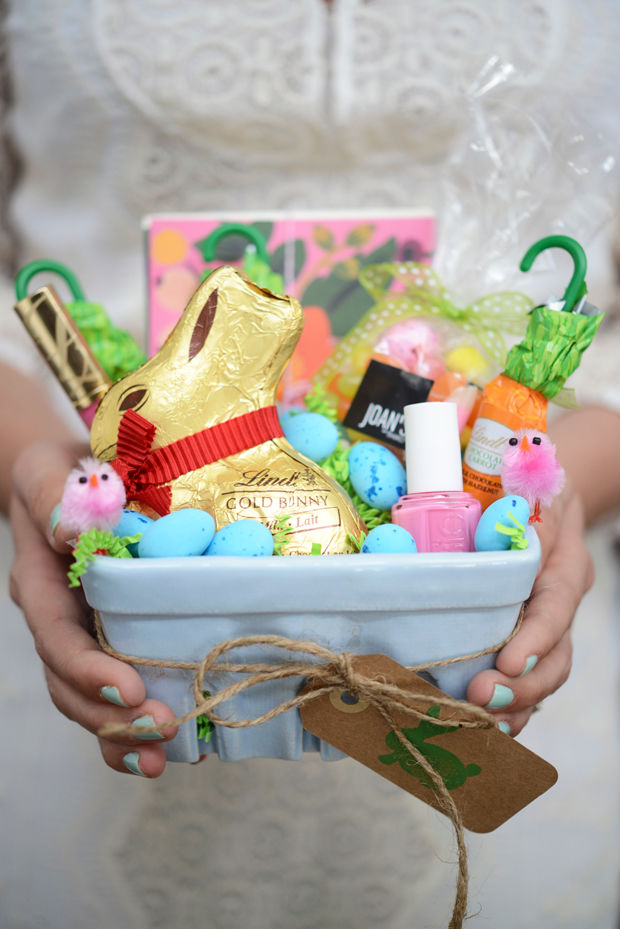 20 Cute Homemade Easter Basket Ideas - Easter Gifts for ...