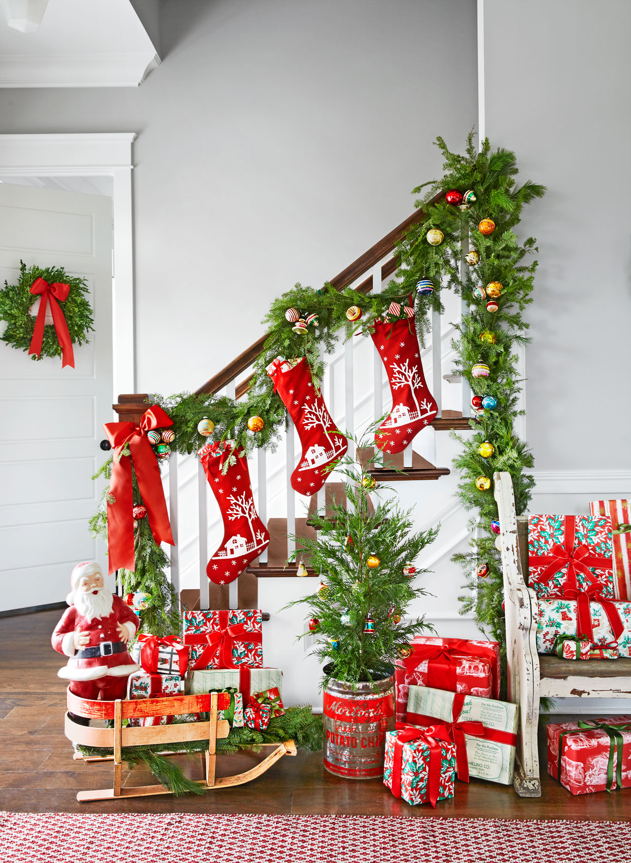 home decorating ideas for christmas holiday 100 country christmas decorations decorating 13398