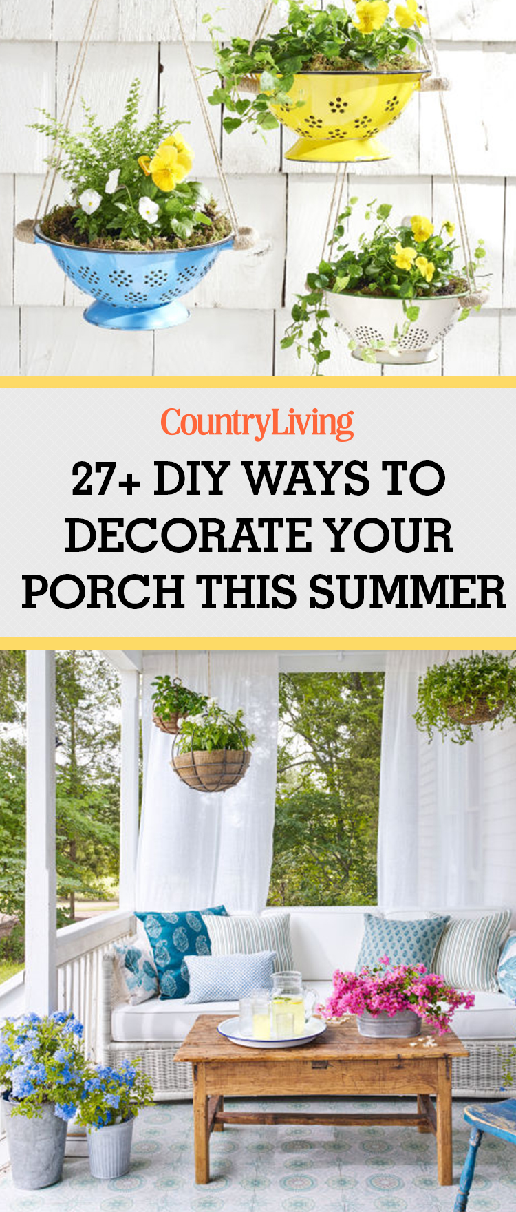 country living craft ideas diy porch d 233 cor diy outdoor d 233 cor 3711