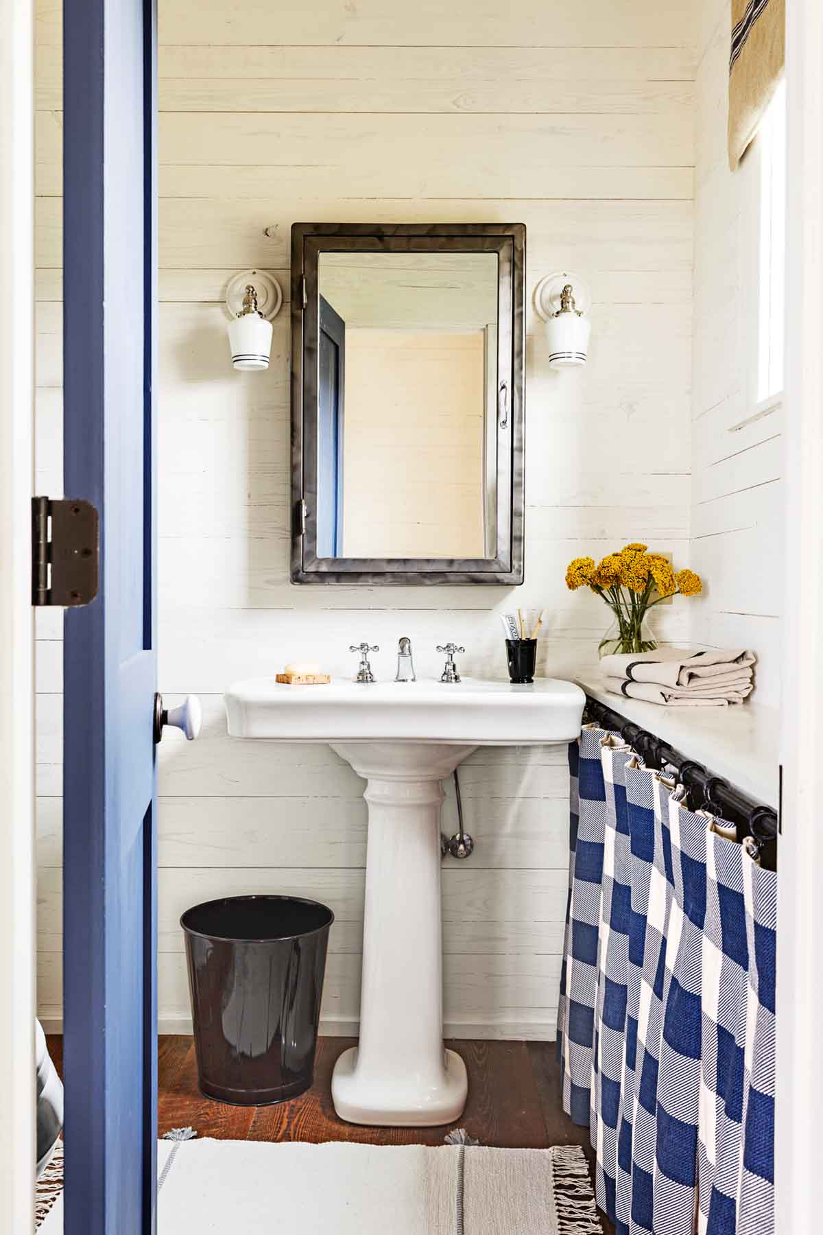 34 Rustic Bathroom Decor Ideas - Rustic Modern Bathroom ...